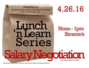 4-26-16 salary negotiation lunch n learn